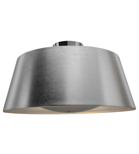 Access 23764-BSL SoHo 3 Light 19 inch Brushed Steel Ceiling Ceiling Light photo