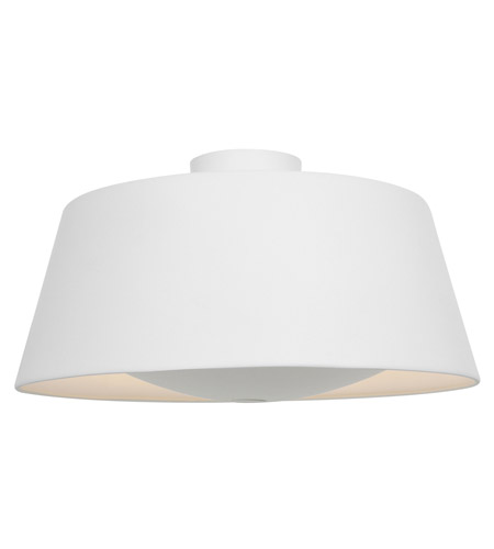 Access 23764-RIC SoHo 3 Light 19 inch Rice Flush Mount Ceiling Light photo