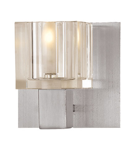 Access 23831-BS/FCL Astor 1 Light 5 inch Brushed Steel Vanity Wall Light photo