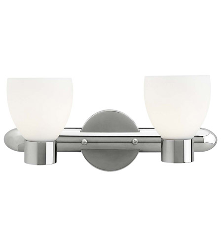 Access Lighting Frisco 2 Light Vanity in Chrome 23902-CH/OPL photo
