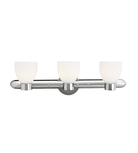 Access C23903CHOPLEN1318BS Frisco 3 Light 26 inch Chrome Vanity Wall Light photo