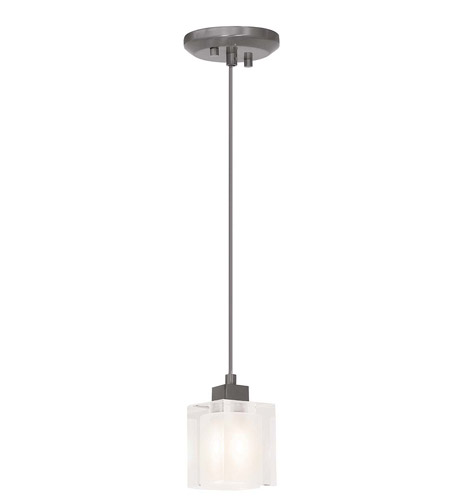 Access 23905-BS/FCL Astor 1 Light 3 inch Brushed Steel Pendant Ceiling Light in Basic photo