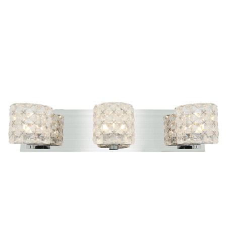 Access 23921LEDDLP-CH/CCL Prizm LED 20 inch Chrome Vanity Light Wall Light photo thumbnail