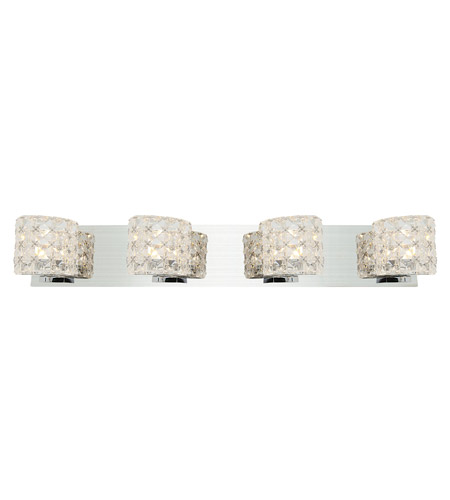 Access 23922LEDDLP-CH/CCL Prizm LED 28 inch Chrome Vanity Light Wall Light photo thumbnail