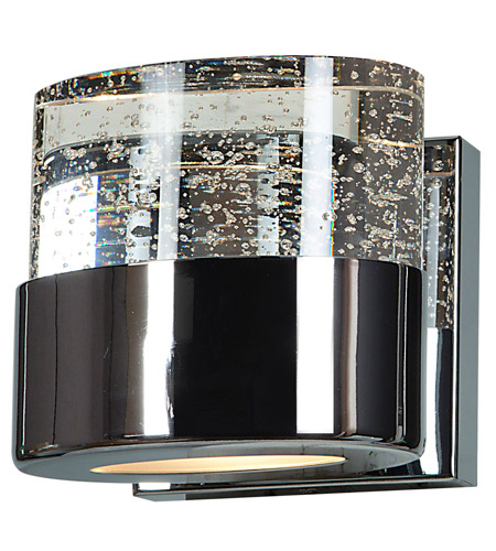 Access 23925-CH/CLR Bubbles 1 Light 5 inch Chrome Vanity Light Wall Light photo