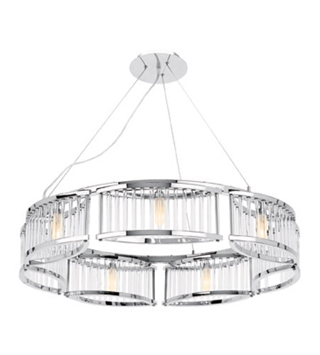 Access Lighting Gemini 7 Light Chandelier in Chrome 23979-CH/CCL photo
