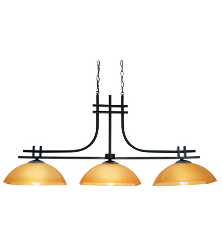 Access Lighting Ambrato 3 Light Pendant in Antique Bronze 26116-ABRZ/AMB photo