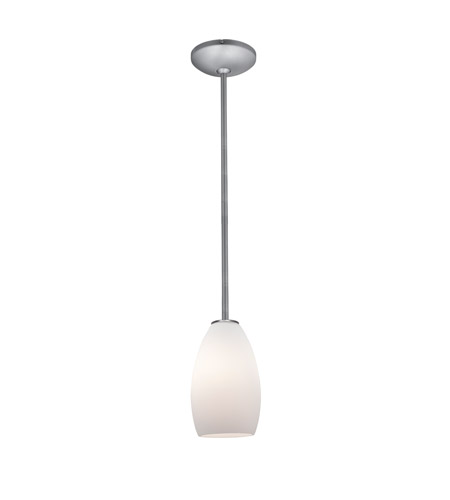 Access Champagne LED Pendant in Brushed Steel 28012-4R-BS/CRM photo
