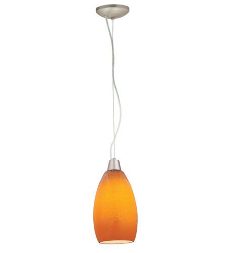 Access Lighting Ami 1 Light Maxi Pendant in Brushed Steel 28012-BS/MYA photo