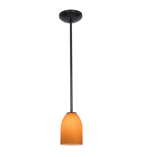 Access 28018-3R-ORB/OPL Bordeaux LED 5 inch Oil Rubbed Bronze Pendant Ceiling Light in Opal photo