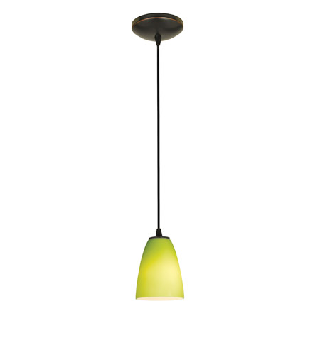 Access 28022-2C-ORB/LGR Tali 1 Light 6 inch Oil Rubbed Bronze Pendant Ceiling Light in Fluorescent, Cord photo