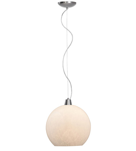 Access Lighting Ami Manhattan 1 Light Maxi Pendant in Brushed Steel 28028-BS/OPL photo