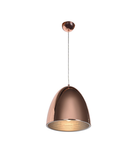 Access 28091-SCP Essence 1 Light 12 inch Shiny Copper Pendant Ceiling Light photo