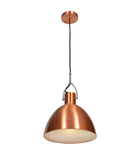 Access 28092-BCP Essence 1 Light 12 inch Brushed Copper Pendant Ceiling Light photo