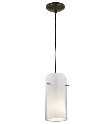 Access Lighting Sydney Glass in Glass 1 Light Maxi Pendant in Oil Rubbed Bronze 28233-ORB/CLOP photo