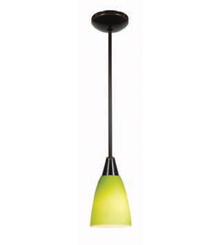 Access Lighting Shaney Inari Silk 1 Light Maxi Pendant in Oil Rubbed Bronze 28422-ORB/LGR photo