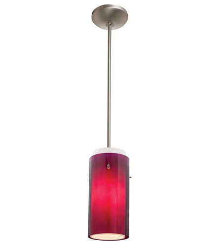 Access Lighting Shaney Glass in Glass 1 Light Maxi Pendant in Satin 28433-SAT/PLOP photo