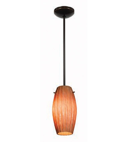 Access Lighting Shaney Fleur 1 Light Maxi Pendant in Oil Rubbed Bronze 28476-ORB/AMM photo