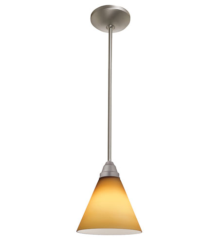 Access Lighting Flora Inari Silk 1 Light Oriental Glass Pendant in Oil Rubbed Bronze 28504-ORB/WHT photo