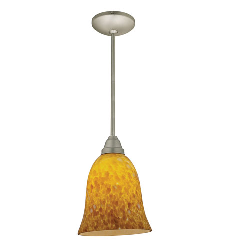 Access Lighting Flora Manhattan 1 Light Bell Glass Pendant in Oil Rubbed Bronze 28514-ORB/TRA photo
