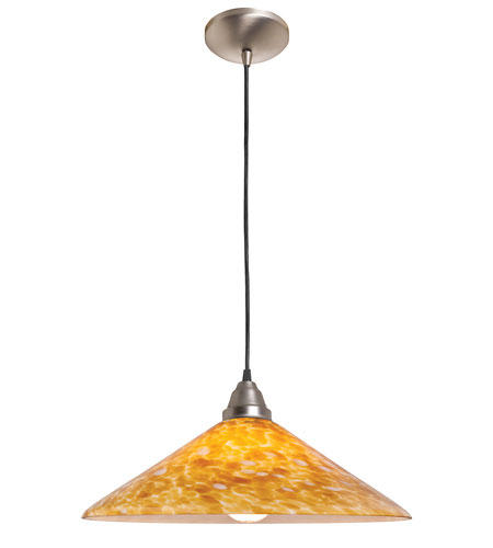 Access Lighting Rita Manhattan 1 Light Hat Glass Pendant in Oil Rubbed Bronze 28615-ORB/COG photo
