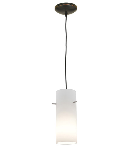 Access Lighting Tali Inari Silk 1 Light Maxi Pendant in Oil Rubbed Bronze 28830-ORB/OPL photo