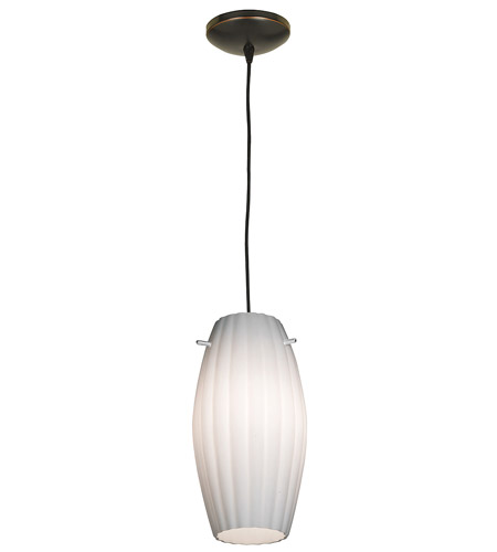 Access Lighting Tali Fleur 1 Light Maxi Pendant in Oil Rubbed Bronze 28876-ORB/OPL photo
