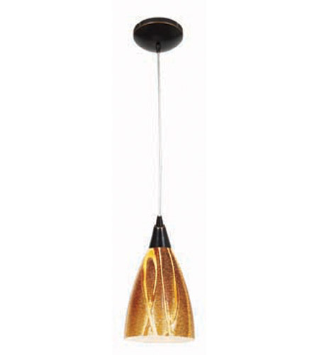 Access Lighting Heather Safari 1 Light Maxi Pendant in Oil Rubbed Bronze 28925-ORB/AMZ photo