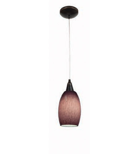 Access Lighting Heather Swirl 1 Light Maxi Pendant in Oil Rubbed Bronze 28978-ORB/PLC photo