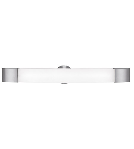Access 31004-BS/OPL Aspen 1 Light 30 inch Brushed Steel Vanity Wall Light in 29.50 inch photo