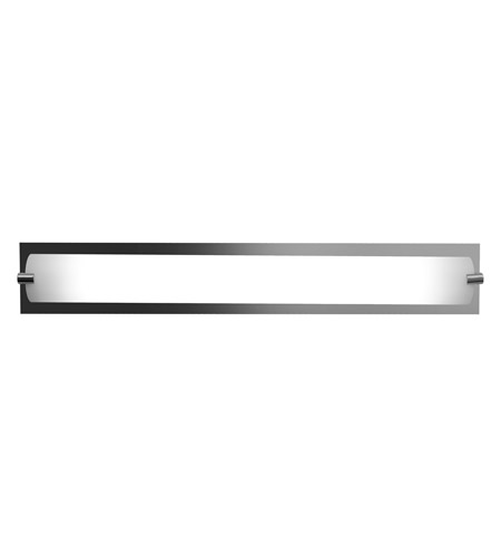 Access 31010-CH/OPL Geneva 1 Light 25 inch Chrome Vanity Wall Light in  24.5 inch photo