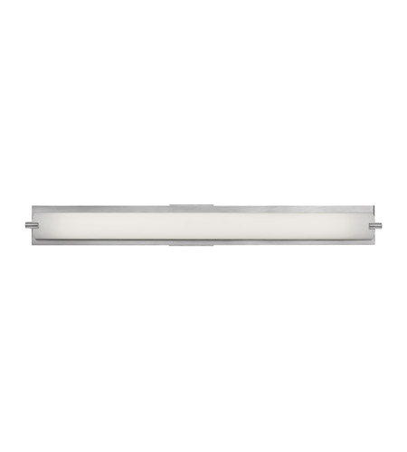 Access 31011-BS/OPL Geneva 1 Light 37 inch Brushed Steel Vanity Wall Light in  36.6 inch photo