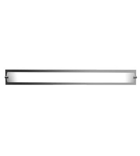 Access 31011-CH/OPL Geneva 1 Light 37 inch Chrome Vanity Wall Light in  36.6 inch photo