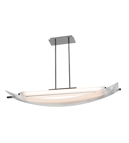 Access 31017LEDD-CH/FST Thesis LED 12 inch Chrome Pendant Ceiling Light photo