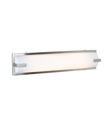 Access 31032-BS/ACR Sequoia 2 Light 25 inch Brushed Steel Vanity Wall Light in  25.25 inch photo