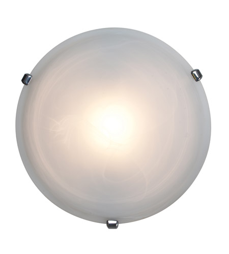 Access 50050-CH/ALB Nimbus 1 Light 16 inch Chrome Flush Mount Ceiling Light photo