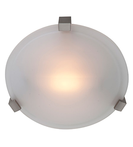 Access 50060-SAT/FST Cirrus 1 Light 8 inch Satin Flush Mount Ceiling Light photo