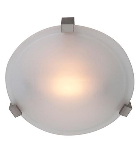 Access Lighting Cirrus 1 Light Flush Mount in Satin 50060-SAT/FST photo