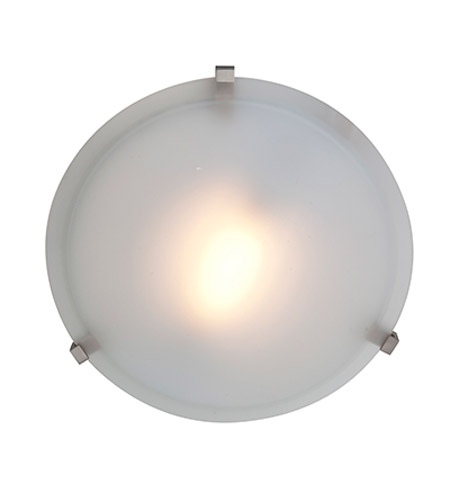 Access Lighting Cirrus 1 Light Flush Mount in Satin 50063-SAT/FST photo
