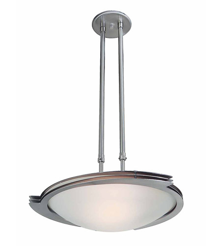 Access Lighting Triton 1 Light Pendant in Brushed Steel 50078-BS/FST photo