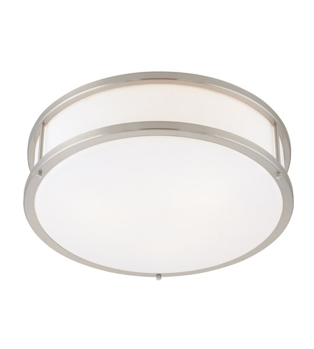 Access C50080BSOPLEN1218BS Conga 2 Light 16 inch Brushed Steel Flush Mount Ceiling Light in Brushed Silver photo