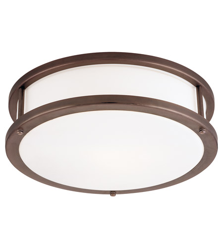 Access C50081BRZOPLEN1226BS Conga 2 Light 19 inch Bronze Flush Mount Ceiling Light photo