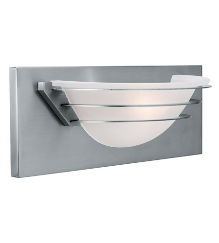 Access Lighting Saturn 1 Light Vanity in Brushed Steel 50096-BS/FST photo