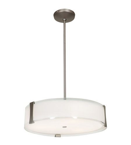 Access Lighting Tara 1 Light Pendant in Brushed Steel 50123LED-BS/OPL photo