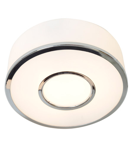 Access Lighting Aero 1 Light Flush Mount in Chrome 50142-CH/OPL photo