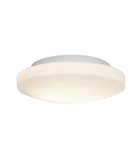 Access 50160-WH/OPL Orion 2 Light 11 inch White Flush Mount Ceiling Light in Incandescent photo