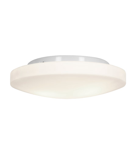 Access Lighting Orion 3 Light OPL Glass Flushmount in White with Opal Glass 50161-WH/OPL photo