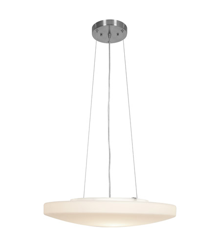 Access 50163-BS/OPL Orion 3 Light 19 inch Brushed Steel Pendant Ceiling Light in Incandescent photo