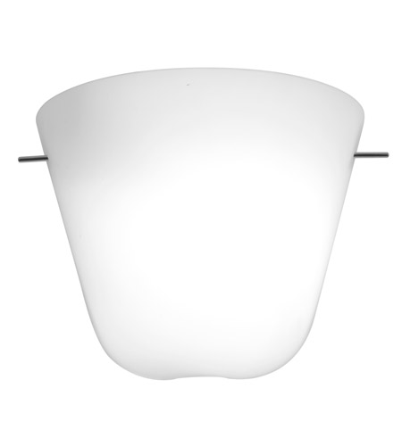 Access Lighting Aire 1 Light Silk Glass Wall Scone in Chrome with Opal Glass 50165-CH/OPL photo