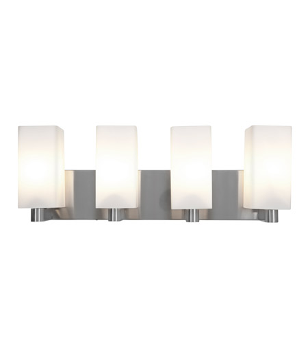 Access 50178LEDD-BS/OPL Archi LED 24 inch Brushed Steel Vanity Light Wall Light photo